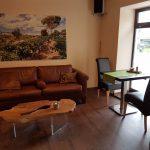 Couch in der MARCO Straubinger Kaffeemanufaktur