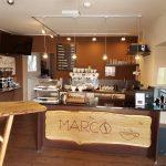 Eingangsbereich der MARCO Straubinger Kaffeemanufaktur