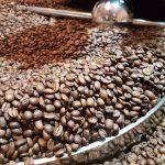 Kühlen der Kaffeebohnen